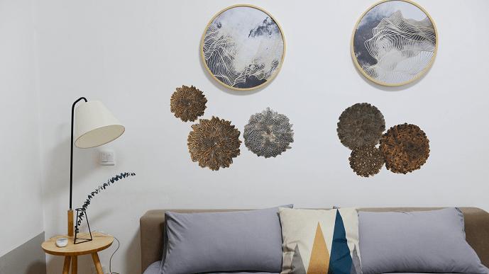 Inspiration - My Juju Hat - Chambre Plumes des bois en tête de lit